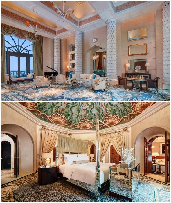 Royal Bridge Suite демонстрирует новые стандарты роскоши (Atlantis, Дубай).