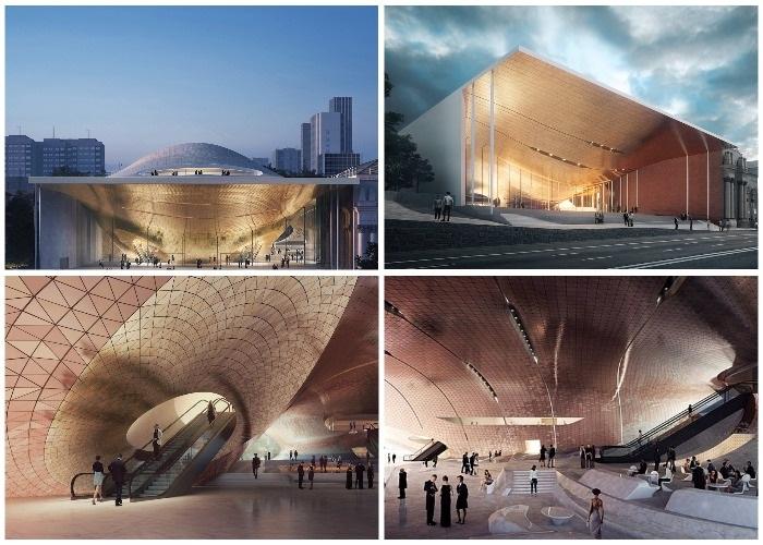 Концепция нового арт-объекта Zaha Hadid Architects в Екатеринбурге.