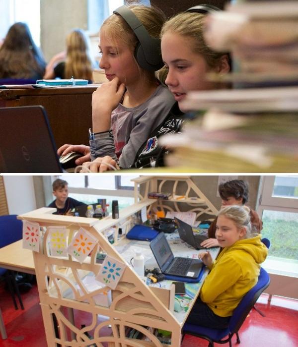 Учащиеся первых 2 года изучают только то, что они сами хотят (Agora College, Нидерланды). | Фото: onderzoekonderwijs.net.