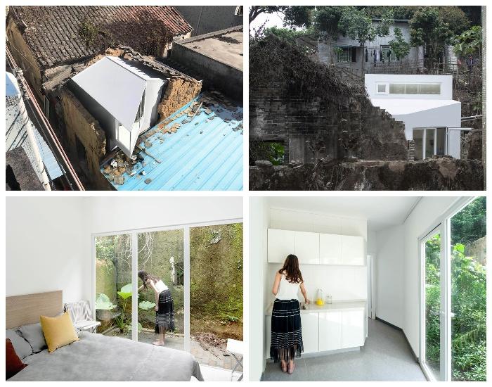 В модульных домах есть все необходимое для комфортного проживания (Plugin House, Китай).