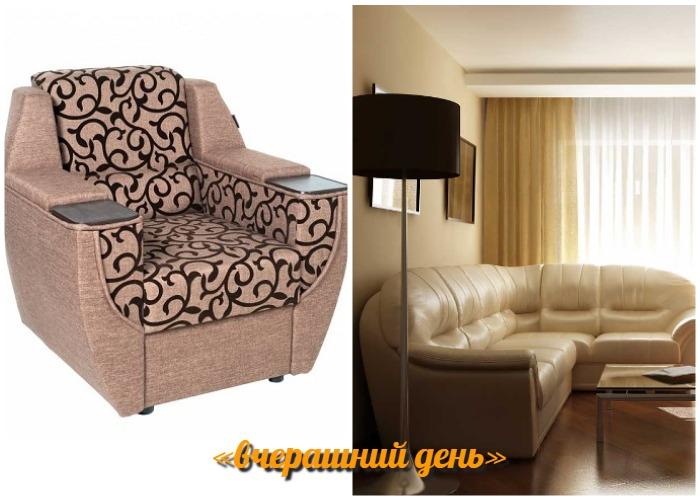 Массивный комплект мягкой мебели в новом сезоне считается признаком дурного вкуса.