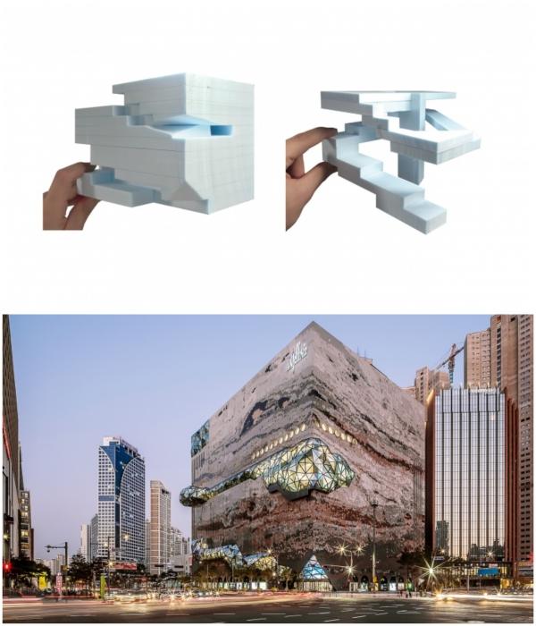 Огромный куб площадью 150 тыс. кв. м. стал «природным» продолжением городской парковой зоны. | Фото: plataformaarquitectura.cl/ © Hong Sung Jun, OMA.