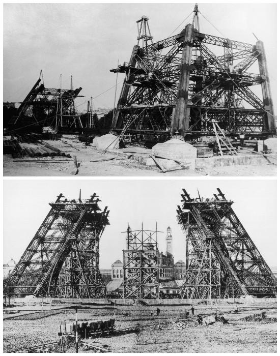 На создание конструкции Эйфелевой башни ушло 20 тысяч тонн металла (Париж, Франция). | Фото: awesomeworld.ru.
