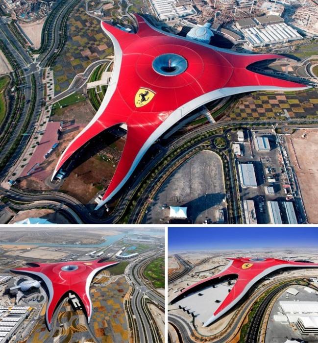 Крытый тематический парк Ferrari World (Абу-Даби, ОАЭ).| Фото: bigpicture.ru.
