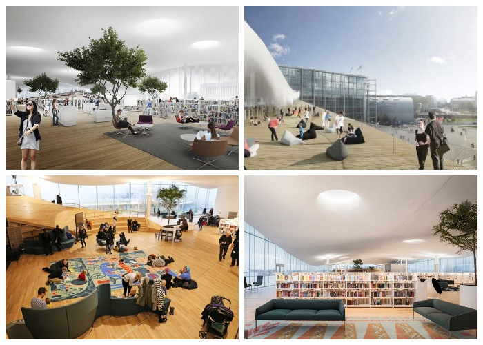 Уникальная библиотека вызывает небывалый интерес как у финнов, так у гостей столицы (Центральная библиотека Oodi, Хельсинки).