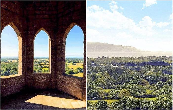 С террасы, расположенной на вершине резиденции, открывается необыкновенной красоты вид («Sway Tower», Великобритания). | Фото: homesandproperty.co.uk.