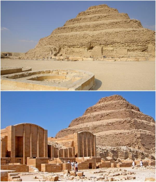 Pyramid of Djoser была построена в период экономического процветания и стабильности египетской цивилизации (г. Саккара). | Фото: global-geography.org.