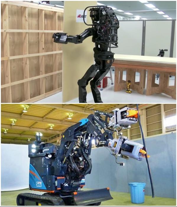 Японские конструкторы создали несколько роботов, которые самостоятельно справляются даже с деревянными конструкциями и мелкими деталями. | Фото: megaobzor.com/ hightech.fm.