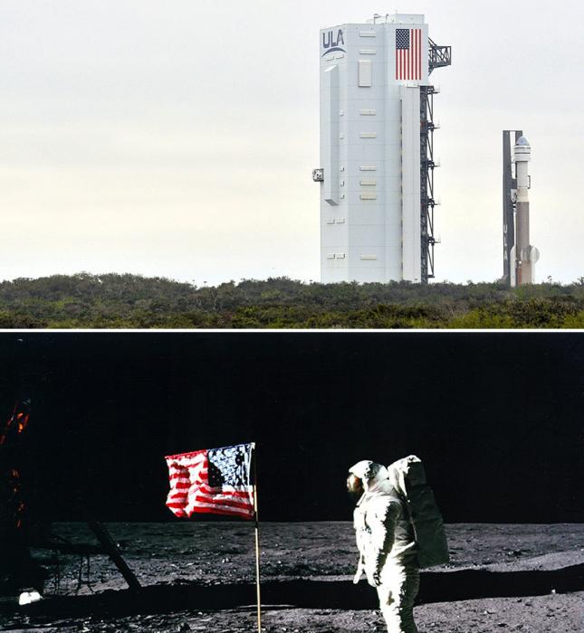 Президент США призвал добывать ресурсы в космосе, невзирая на международные соглашения. | Фото: m24.ru/ russian.rt.com.