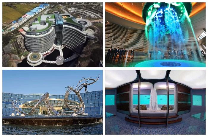 Подземный отель Songjiang InterContinental начал принимать гостей (Китай).