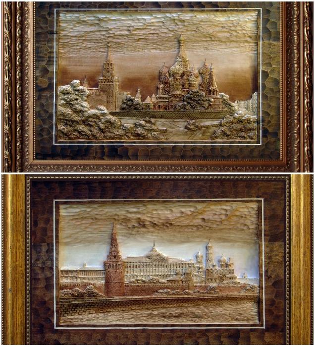 Авторские работы можно увидеть на выставках и галереях (Художественная мастерская Виктора Дубовика). | Фото: artbench.livejournal.com.