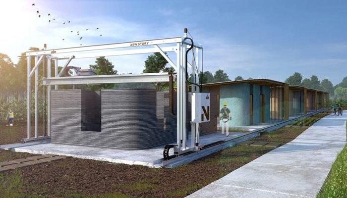 В Сальвадоре планируют создать квартал социального жилья с помощью 3D принтера.