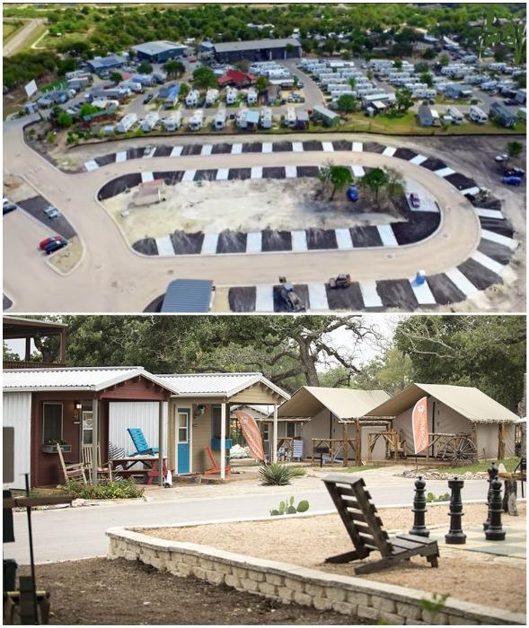 В деревне Community First на данный момент нашли убежище около 200 «хронических» бездомных (Остин, США).