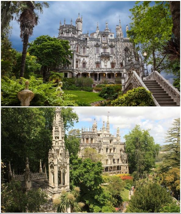 Колодец Посвящения находится на территории дворцово-паркового комплекса Quinta da Regaleira (Синтра, Португалия).