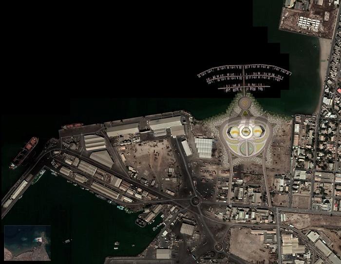 Власти страны одобрили проект и выделили место под реализацию символичного высотного объекта (концепт Djibouti Towers). | Фото: mymodernmet.com.