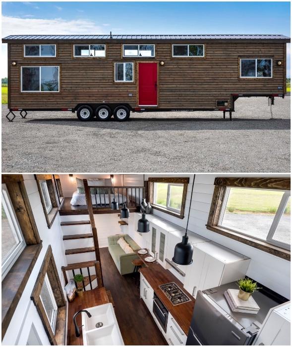 Модель автодома Canada Goose от компании Mint Tiny House.