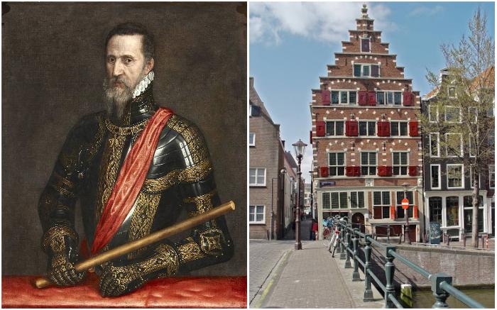 Запрет на закрытые шторы на окнах ввел герцог Фернандо Альварес де Толедо, который был наместником испанского короля.