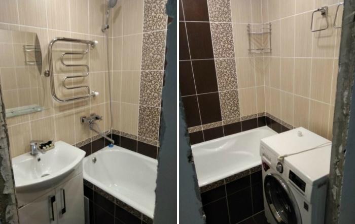 Теперь ванная комната будет радовать родителей.