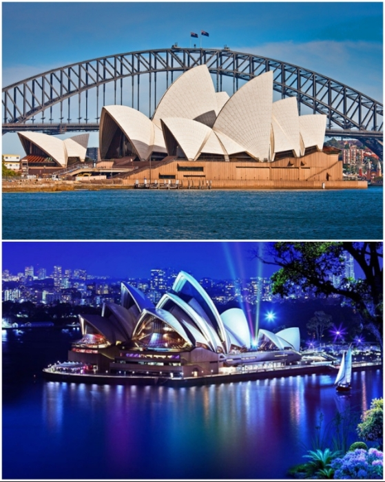 Несмотря на все сложности и то, что автор проекта покинул строительство, театр стал украшением не только набережной, но и символом всей страны (The Sydney Opera House, Австралия).