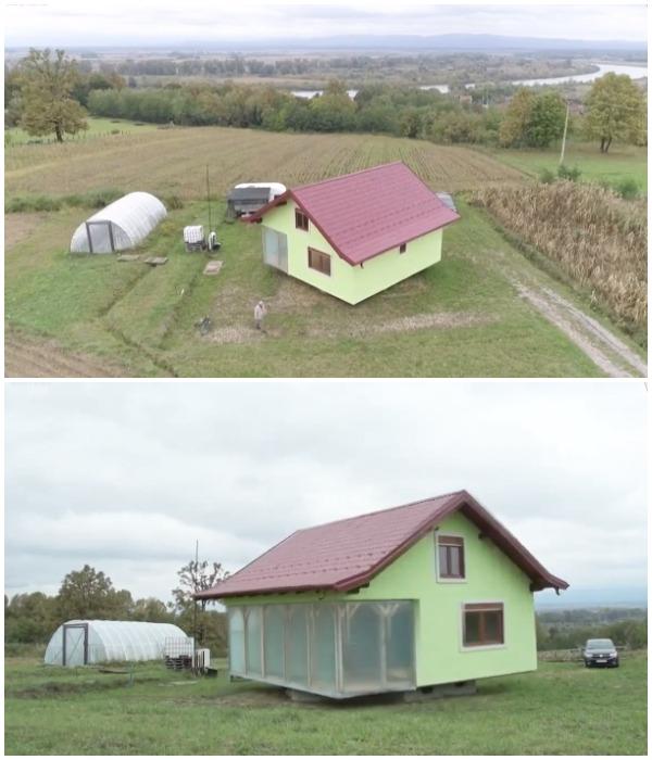 Пейзаж за окном может меняться ежесекундно (Босния).