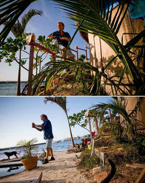 На острове созданы все условия для отдыха на свежем воздухе (Joysxee, Мексика).