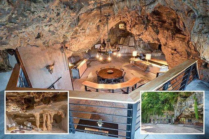 Шикарные апартаменты в пещерном доме.