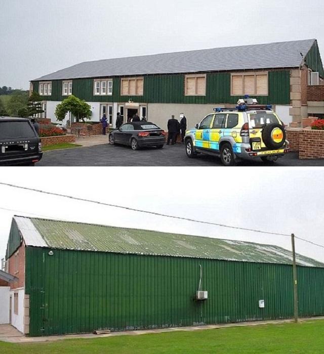 В Британии полиция обнаружила роскошный особняк, тщательно замаскированный за стенами сарая. | Фото: casavogue.globo.com.