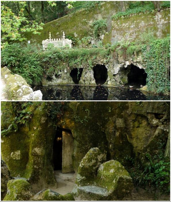 Подземные гроты, лабиринты и башни привлекают своей таинственностью и особенным смыслом (Quinta da Regaleira, Португалия).