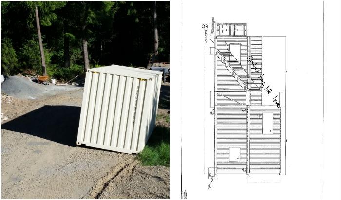 Грузовые контейнеры вдохновили на создание уютного дома.