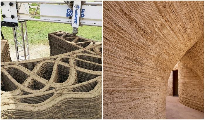 Стены возводятся с учетом тепло- и гидроизоляции и устойчивости к природным катаклизмам и пожарам (TECLA, Италия).