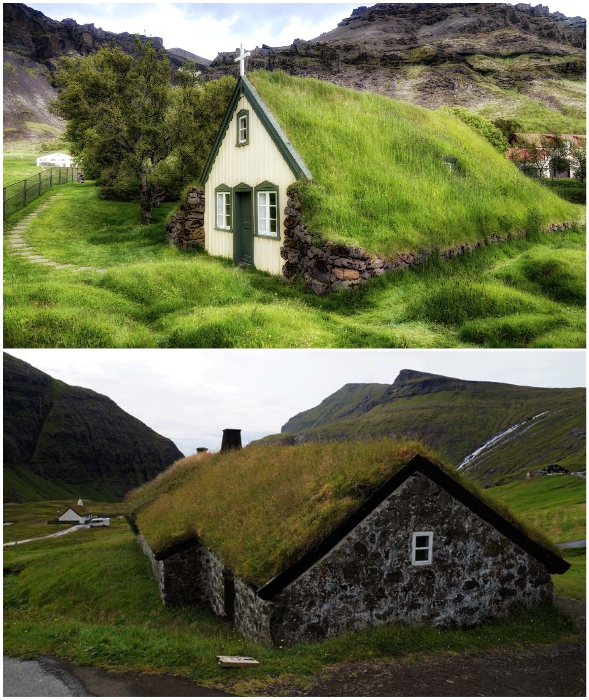 В зависимости от того, какой материал преобладал в той или иной местности, стены делали из дерева или камня.