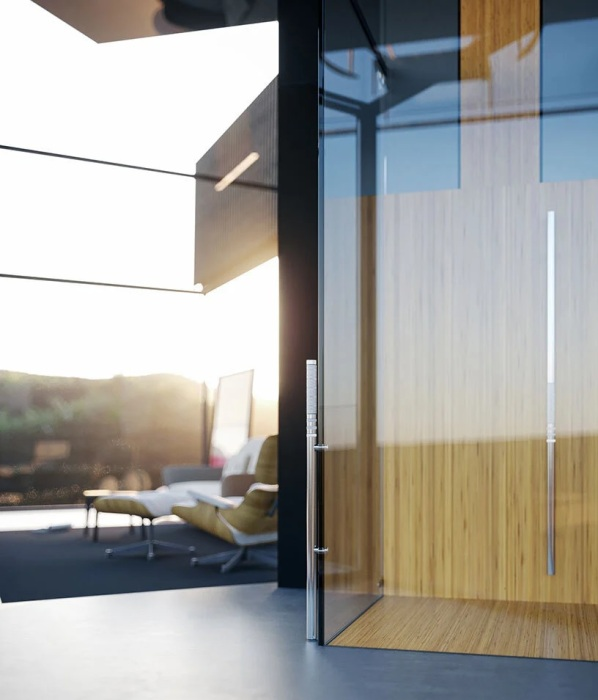 Прозрачная кабина лифта позволит наслаждаться живописным ландшафтом во время подъема на нужный этаж (концепт House on the Rice Paddy). | Фото: impresedilinews.it.