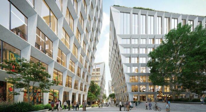 Открытая часть фасадов выходит на общественные площади и прогулочные зоны (концепт Fase Valley). | Фото: coreinvestments.pt.