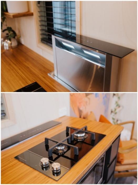 Мобильная вытяжка – идеальное изобретение для крошечных апартаментов (Autumn, Новая Зеландия).