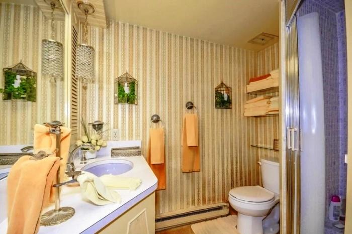 Одна из ванных комнат в «Жемчужине, скрывающейся в раковине». | Фото: genial.guru.