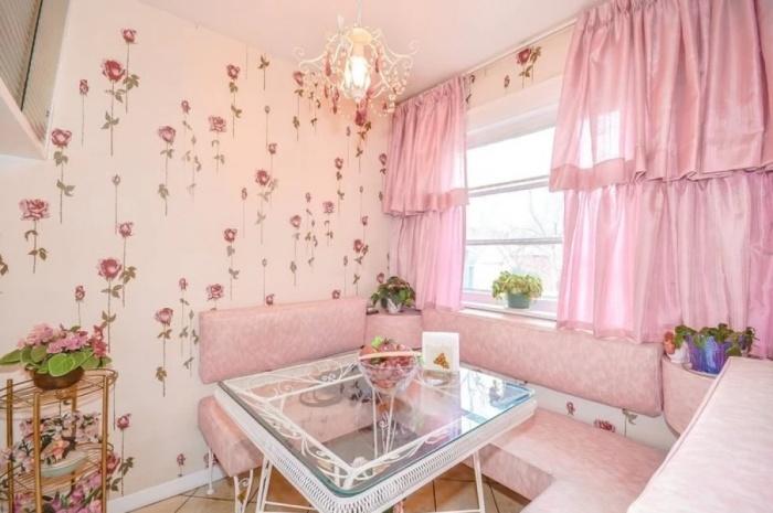 Очаровательная комната для посиделок. | Фото: genial.guru.