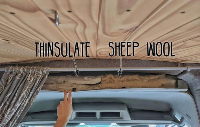 Для организации комфортной жизни при отделке внутреннего пространства использовали тепо- и шумоизоляцию.  | Фото: instagram.com/ faroutride.