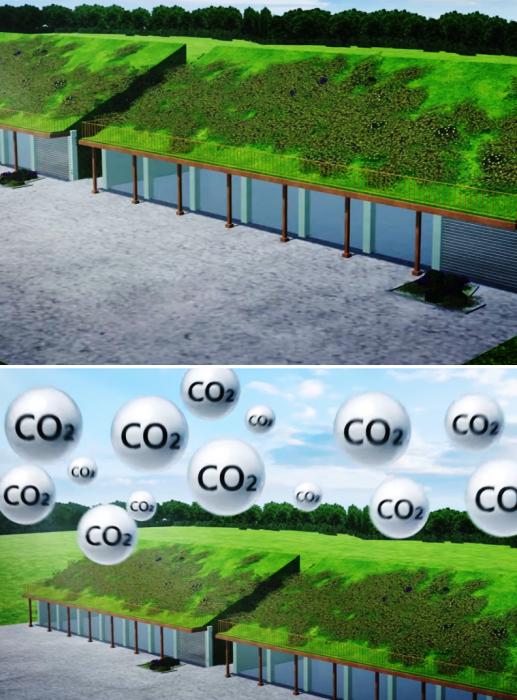 Наличие огромного количества зеленых насаждений в Smart Forest City позволит улучшить экологическую ситуацию региона (проект Stefano Boeri Architetti). | Фото: youtube.com/ TomoNews US.