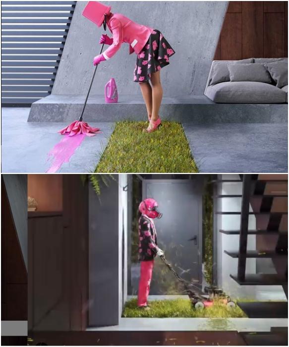 Особый колорит и юмор можно увидеть и внутри Greenhouse (концепт Karina Wiciak).   Фото: instagram.com/ wamhouse.