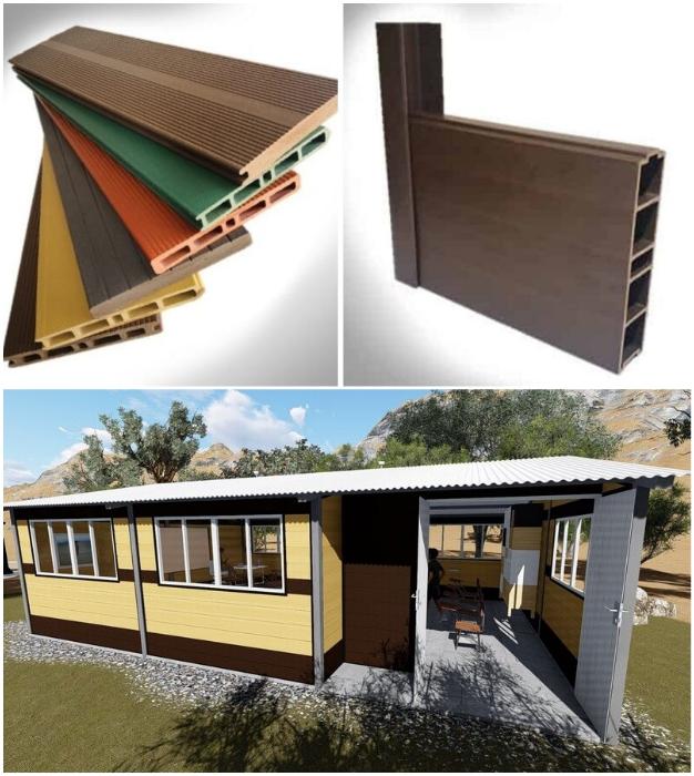 Все виды стройматериалов WPC имеют разную цветовую гамму, так что дополнительных отделочных работ не потребуется.