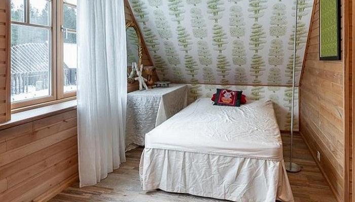 Чердачное помещение превратили в уютные спальни. | Фото: best-fan.ru.