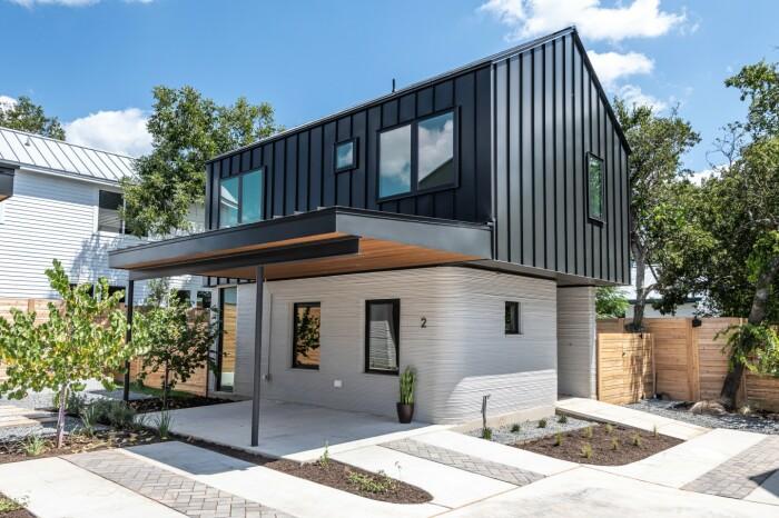 Инновационные резиденции при продаже будут полностью оборудованы техникой и мебелью (Остин, Техас). | Фото: newatlas.com.