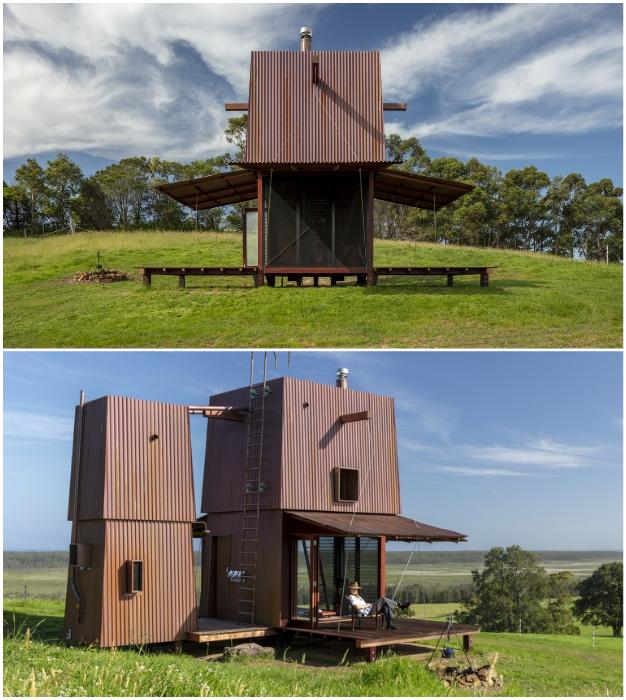 Отдельные летние веранды позволят каждому члену семьи уединиться (Permanent Camping-2, Австралия).