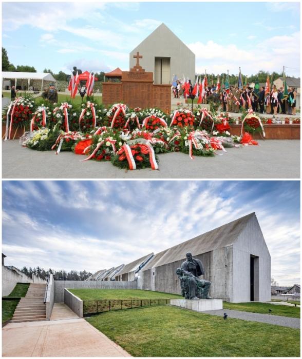«Мавзолей мученичества польских деревень» был открыт на 78 годовщину трагедии, произошедшей в деревне Михнев (Польша).