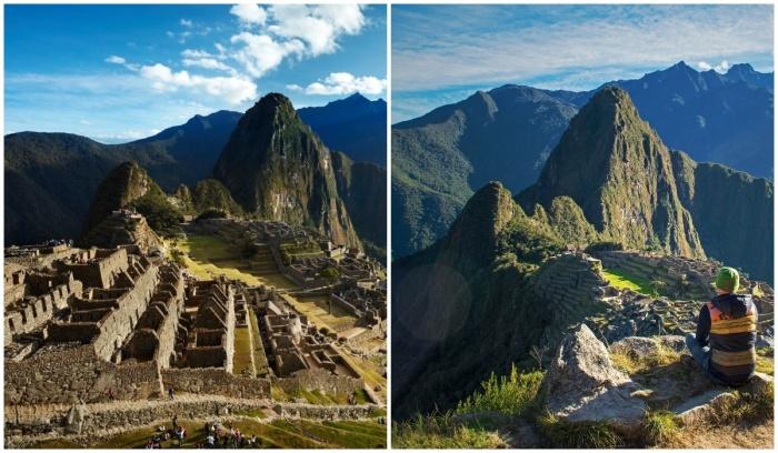 Путешествующие смогут посетить древнейших город инков Мачу-Пикчу (Перу).