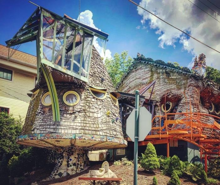 Грибной дом The Mushroom House стал одной из самых интересных достопримечательностей Цинциннати (США). | Фото: storgram.com.