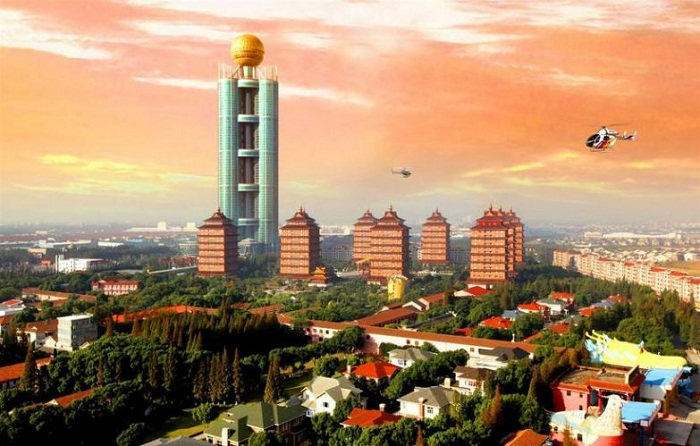 В этой деревне построили свою модель хозяйствования (Хуаси, Китай).