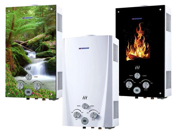 Некоторые изготовители выпускают газовые агрегаты с интересным дизайном. | Фото: oteple.com.