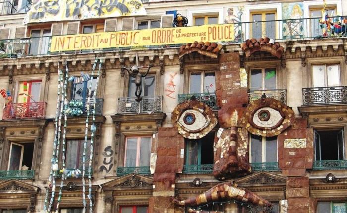 Париж тоже не миновала участь захвата зданий сквоттерами (Франция). | Фото: svoboda.org.