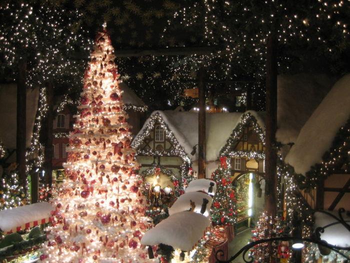 Старинный город Ротенбург - это город вечного Рождества (Германия). | Фото: holidaycheck.de.